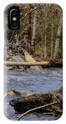 Fishing In Pacific Northwest IPhone Case