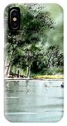 Fishing On Lazy Days - Aucilla River Florida IPhone Case