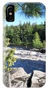 Fishing On The West Branch IPhone Case