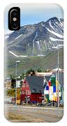 Fishing Village In Iceland IPhone Case
