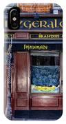 Fitzgeralds Pub - Dublin Ireland IPhone Case