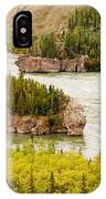 Five Finger Rapids Of Yukon River Yukon T Canada IPhone Case