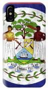 Flag Of Belize IPhone Case