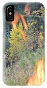 Flame Colored Fall.  IPhone Case