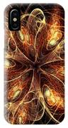 Flame Flower IPhone Case