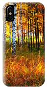 Flaming Grass IPhone Case
