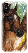 Flaming Horse IPhone Case