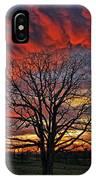 Flaming Oak Sunrise IPhone Case
