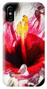 Flaming Petals IPhone Case