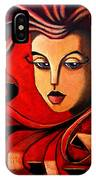 Flaming Serenity IPhone Case