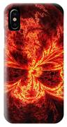 Flaming Skull IPhone Case