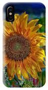 Flaming Sun IPhone Case