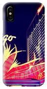 Flamingo At Night IPhone Case