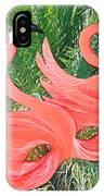 Flamingo Mask 1 IPhone Case