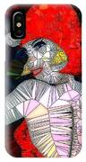Flapper Girl In Glass IPhone Case