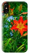 Flashes Of Garden Fire IPhone Case