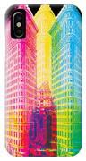 Flat Iron Pop Art IPhone Case by Gary Grayson