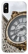 Flatiron And Clock IPhone Case