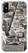 Flatiron Building - New York City IPhone Case
