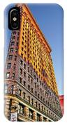 Flatiron Building Profile IPhone Case