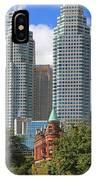 Flatiron Building Toronto 2 IPhone Case