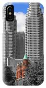 Flatiron Building Toronto 2c IPhone Case
