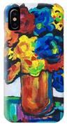 Fleurs De Vigne IPhone Case