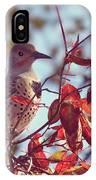 Flicker In Autumn IPhone Case