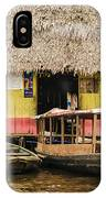 Floating Bar In Shanty Town IPhone Case