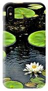 Floating Lily IPhone Case
