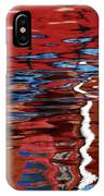 Floating On Blue 28 IPhone Case