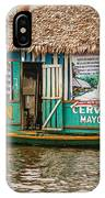Floating Pub In Shanty Town IPhone Case