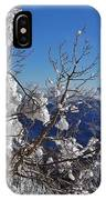 Flocked Pinon IPhone Case