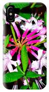 Flora In Pink IPhone Case