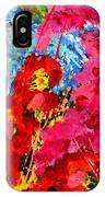 Floral Abstract Part 1 IPhone Case