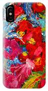 Floral Abstract Part 3 IPhone Case