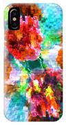 Floral Art Xiii IPhone Case