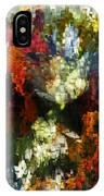 Floral Art Xiv IPhone Case
