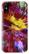 Floral Art Xxiv IPhone Case