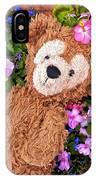 Floral Bear IPhone Case