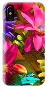 Floral Colors 1 IPhone Case