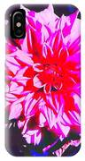 Floral Coral IPhone Case
