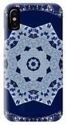 Floral Flow Blues IPhone Case