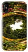 Floral Garden Polar View  02 IPhone Case
