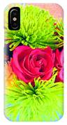Floral Glow IPhone Case