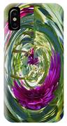 Floral Illusion 1 IPhone Case