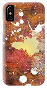 Floral Print IPhone X Case