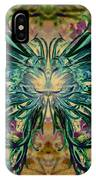 Floral Synapse 2 IPhone Case