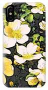 Floral Yellow IPhone Case