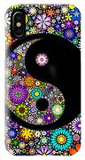 Floral Yin Yang IPhone Case